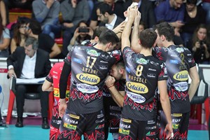 SIR SAFETY CONAD PERUGIA IS IN THE HISTORY OF VOLLEY