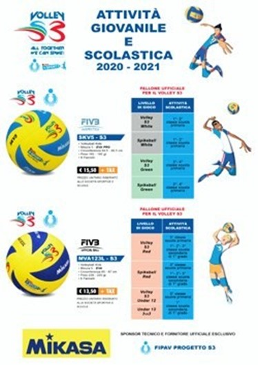 Picture of Scheda VOLLEY S3